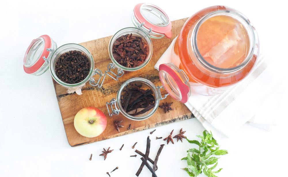 Kombucha-flavourings