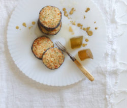Parmesan and Poppy Seed Biscuits