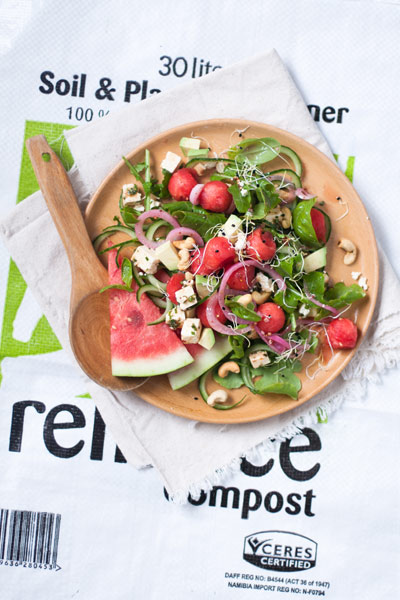watermelon recipes watermelon salad with pickled red onions