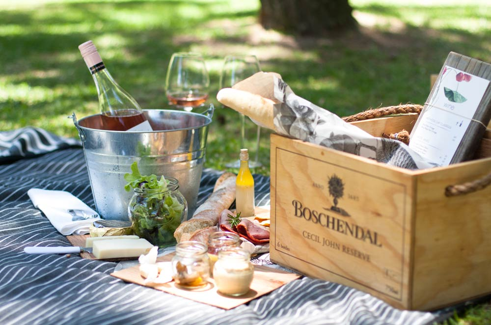 Picnicking at Boschendal