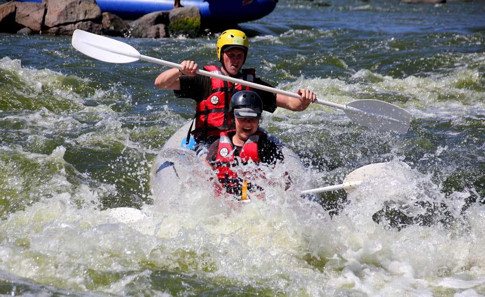 Dimalachite White Water Rafting