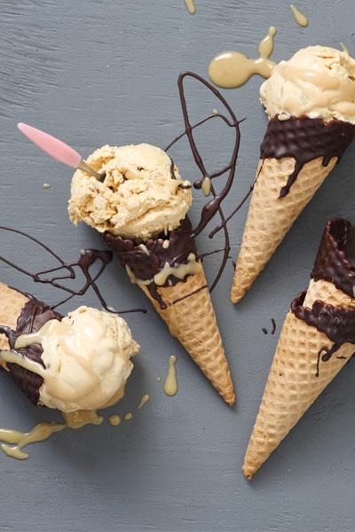 Frozen Dessert - Fried Banana and Caramel Ice Cream recipe