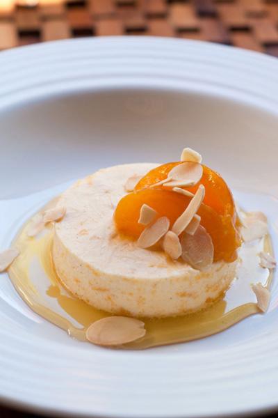 Frozen Dessert - Frozen Apricot with Ginger Nuts yoghurt recipe