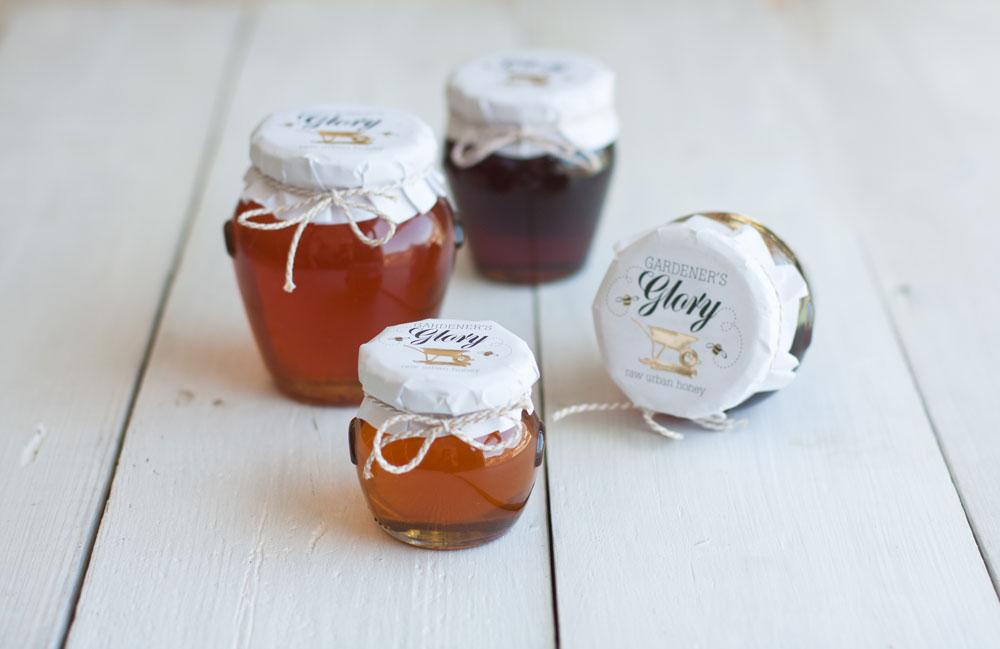 urban Beekeeping Gardeners Glory Honey