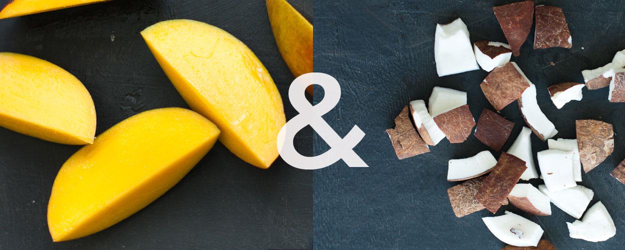 Mango and Coconut