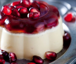 Pomegranate-Panna-Cotta