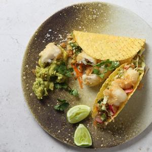 Nikkei Style Fish Tacos