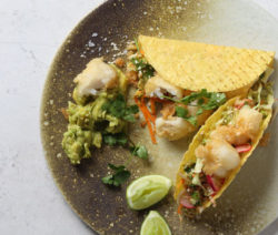 Nikkei Inspired Fish Tacos