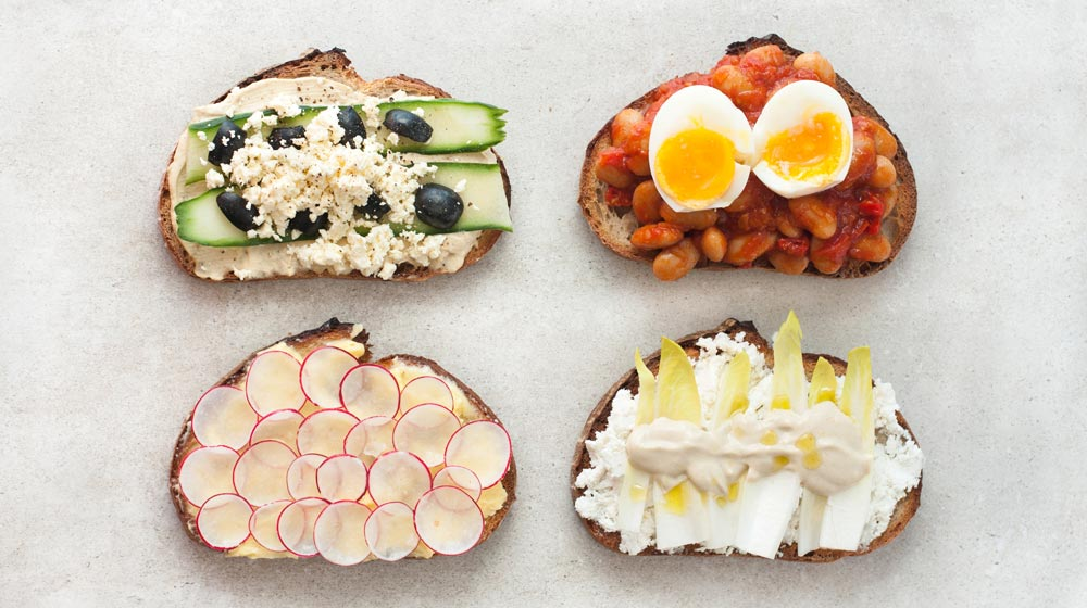 4 Fabulous Toast Toppings