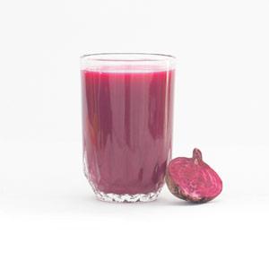 Rock to the beet juice
