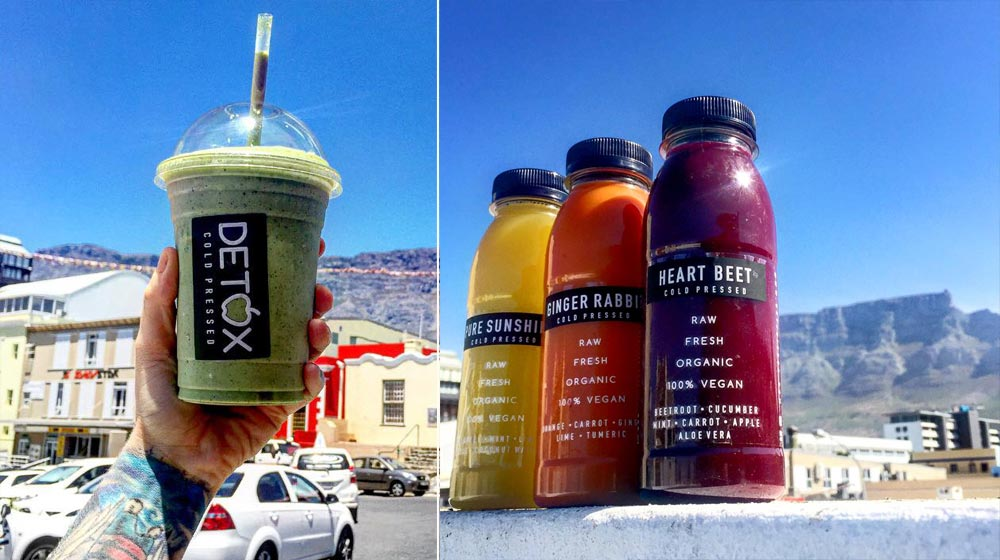 detox cold press juice bar