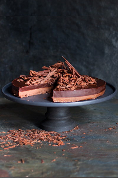 recipes with chocolate - Doubly Decadent Chocolate Tart