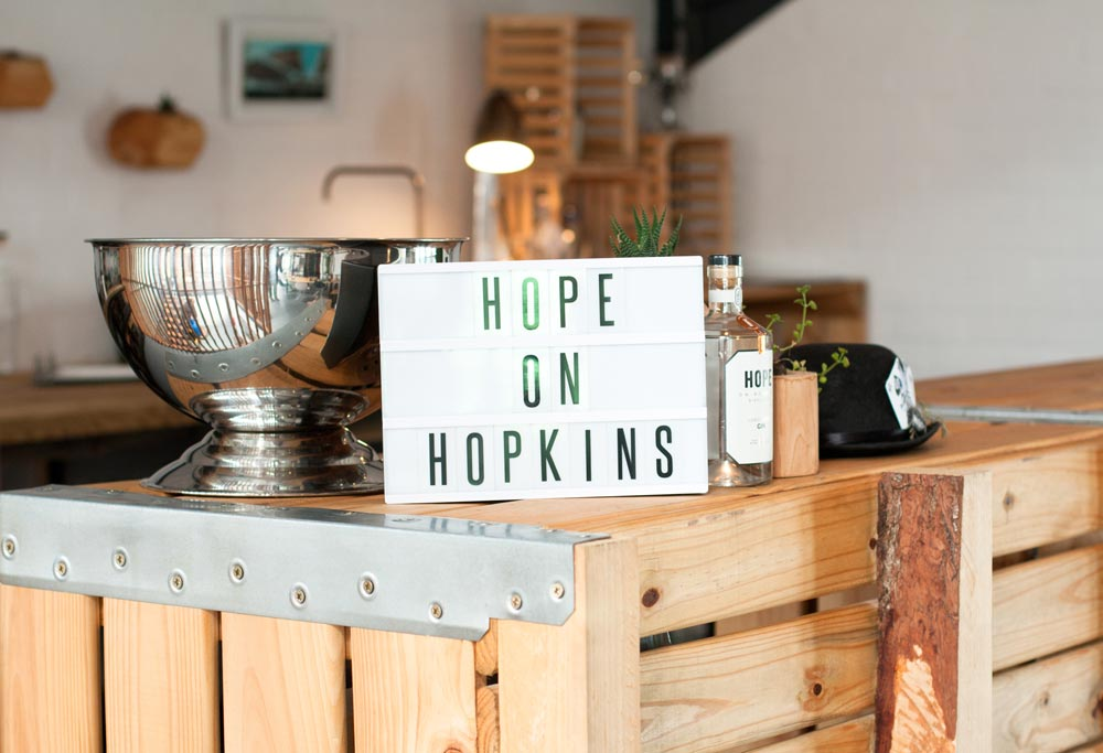 Hope on Hopkins Gin Distillery