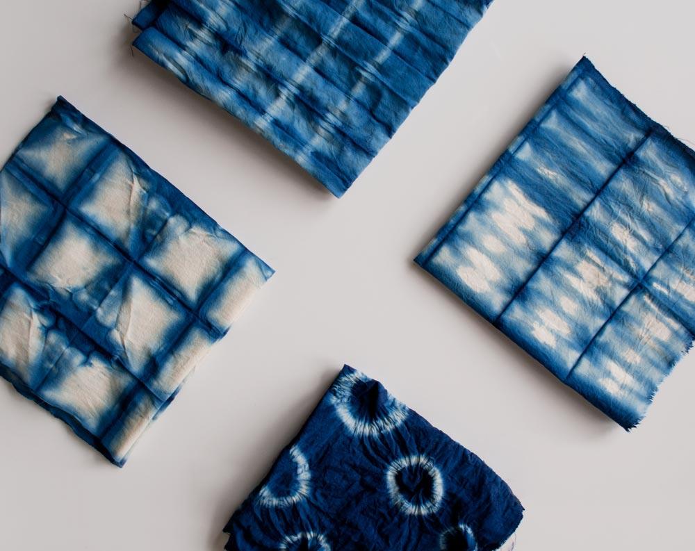 Shibori-Cushions