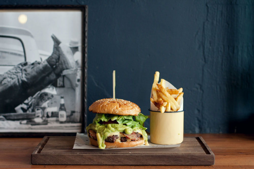 Burger places in Cape Town