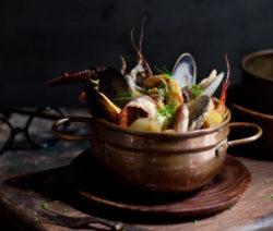 French Food Bouillabaisse