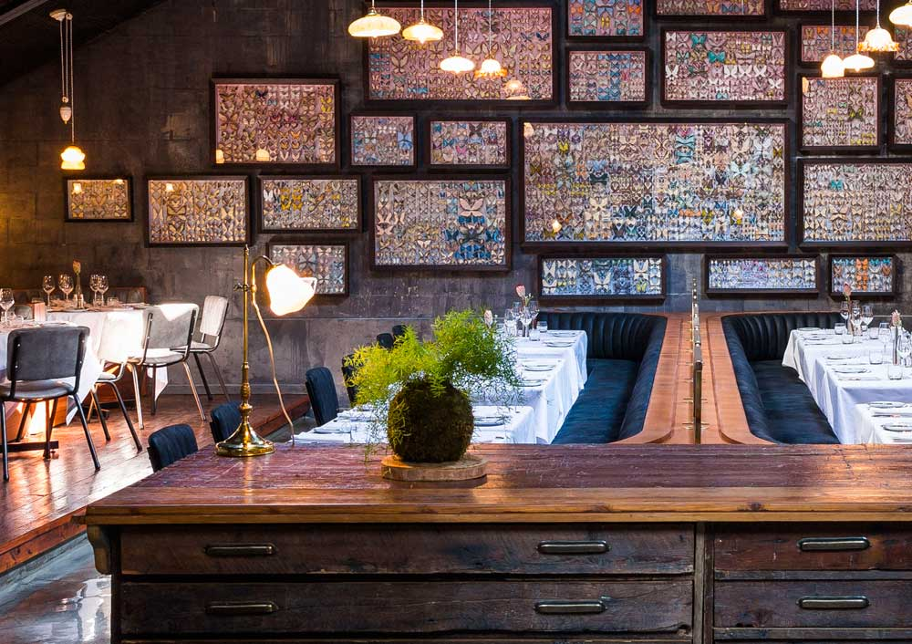 Restaurants with beautiful interiors