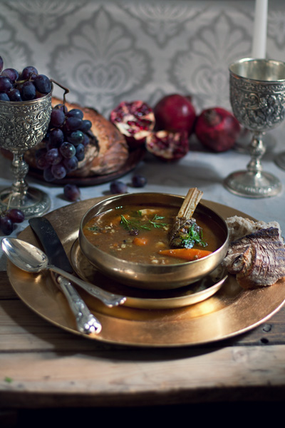 Venison and Barley soup
