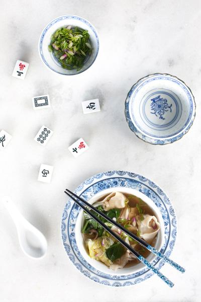 Best Asian Recipes chicken wonton soup