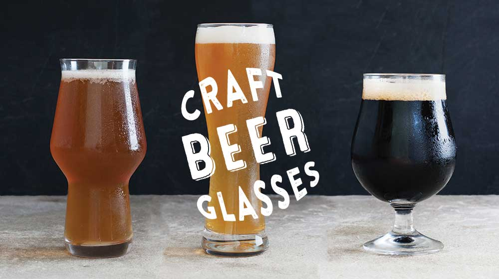 Drink Beer out of a Glass
