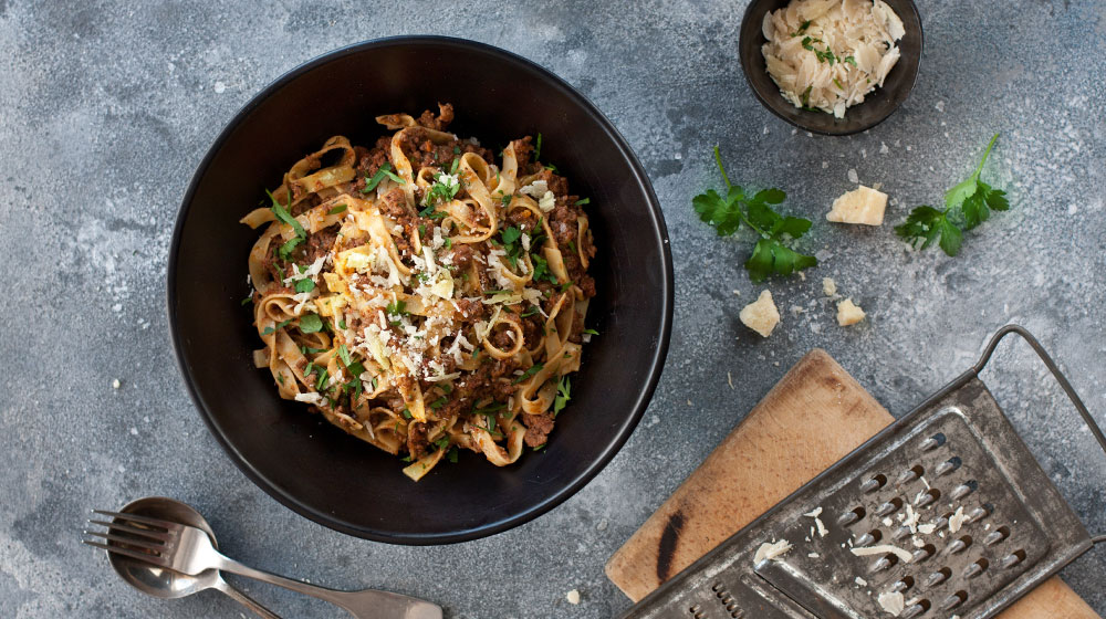 Slow cooked Meat Ragu