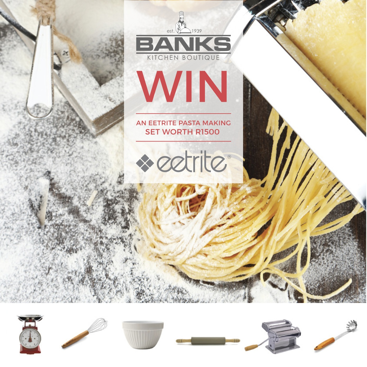Win complete pasta making kit