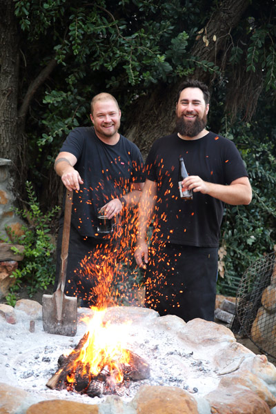 Karl and Greg - Braai Tips 4x6