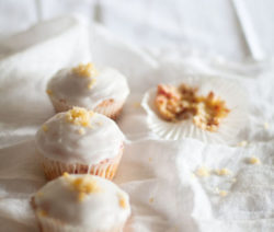 eggless carrot cupcake 4x6