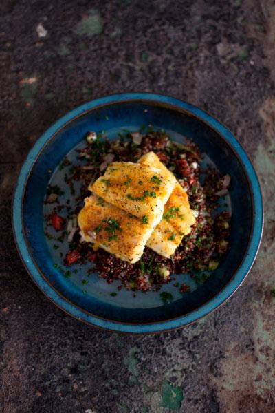 Kingklip with Quinoa
