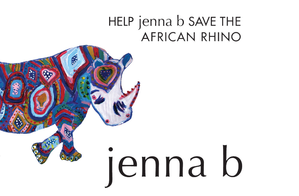 Jenna Save the Rhinos