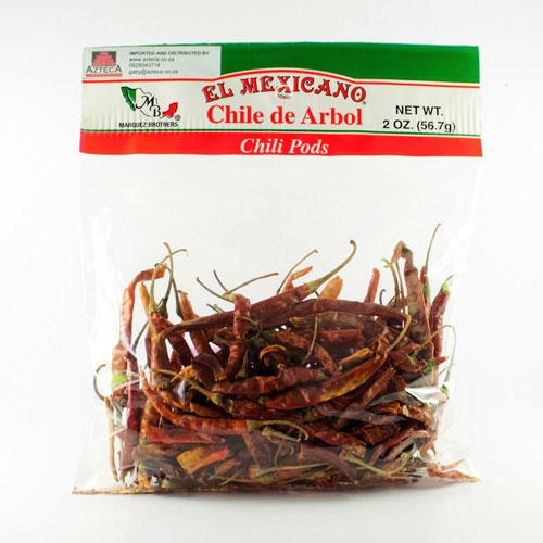 Mexican ingredients chilli pods