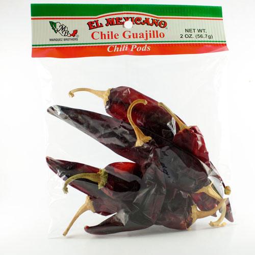 Mexican ingredients chili guajillo