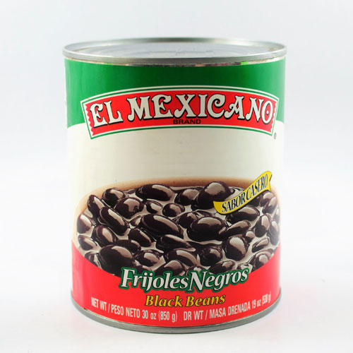 Mexican ingredients Black Beans