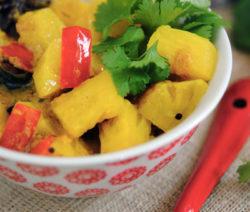 pineapple curry 4x6