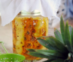 pineapple vinegar 4x6