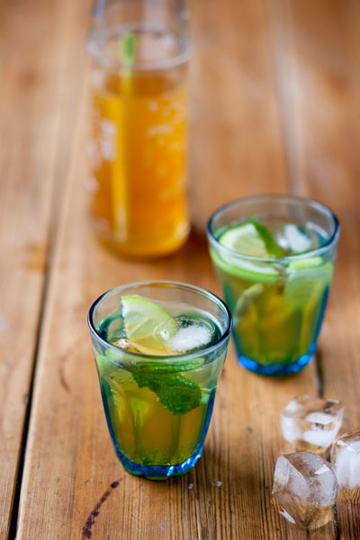 south african heritage day recipes - rooibos iced tea
