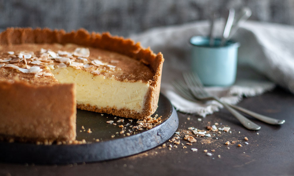 Deep Dish Coconut Condensed Milk Tart Crush Magazine Online