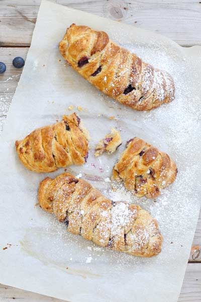 Best Cheese Recipes Blueberry Cream Cheese Danish
