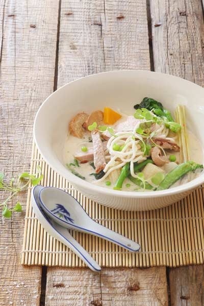 Lemongrass Ginger Coconut Broth