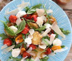 Melenzane Parmigiana Salad