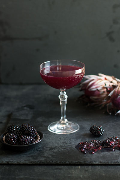Halloween Food - bloodied hallowine cocktail