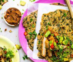 Spinach Rotis Quorn