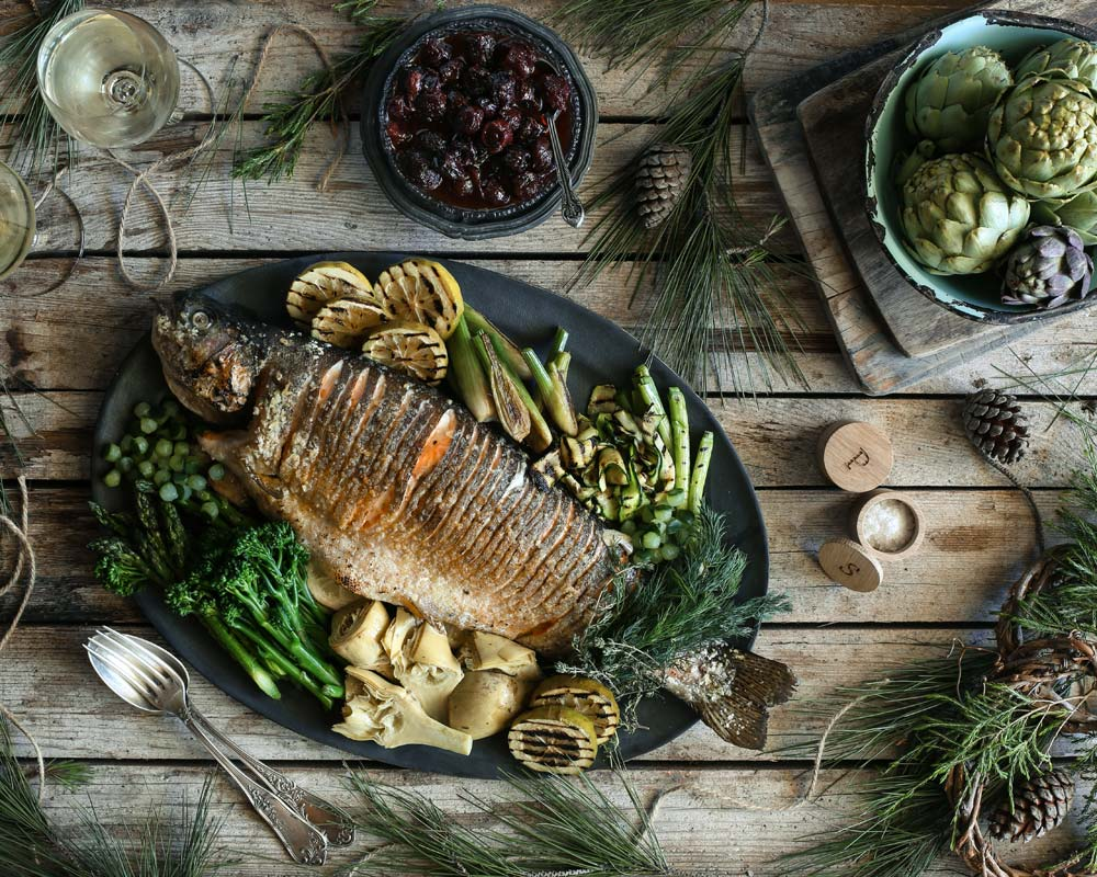 How to cook trout for the festive table 64