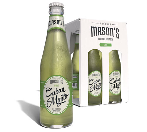 Mule Cocktails in a bottle, introducing Original Mason's