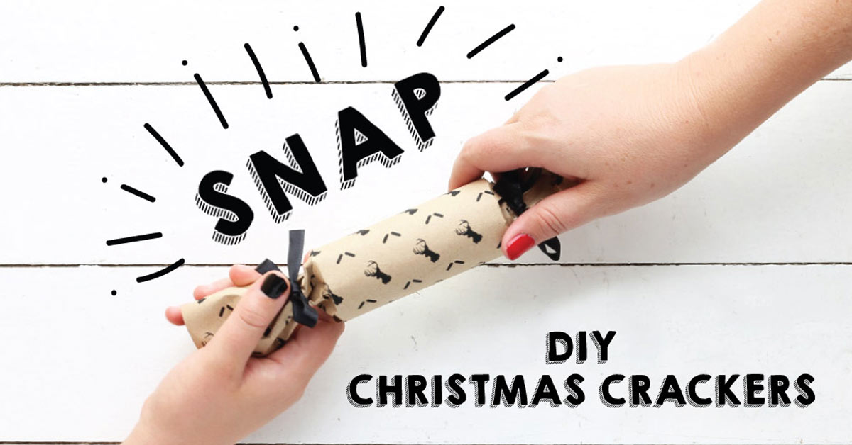 add some snap to your festive table with diy christmas crackers crush - Diy Christmas Crackers