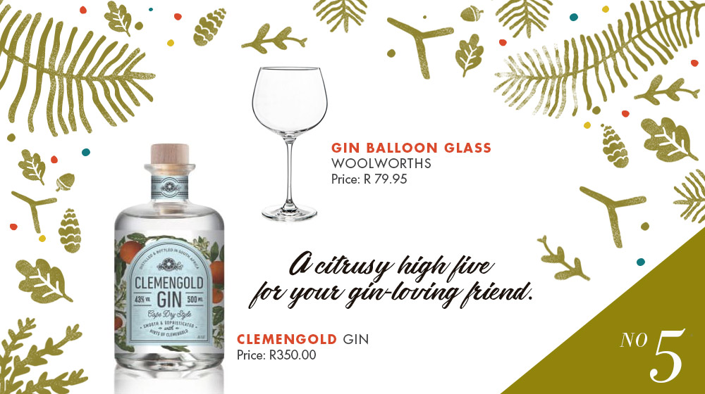Fine Spirits Christmas Gift Ideas clemengold gin