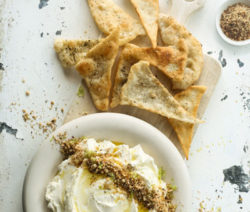 Labneh-and-Flatbreads
