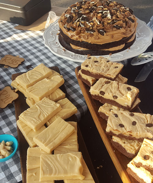 Cedar Square Stalls Night Market delicious cake and biscuit treats