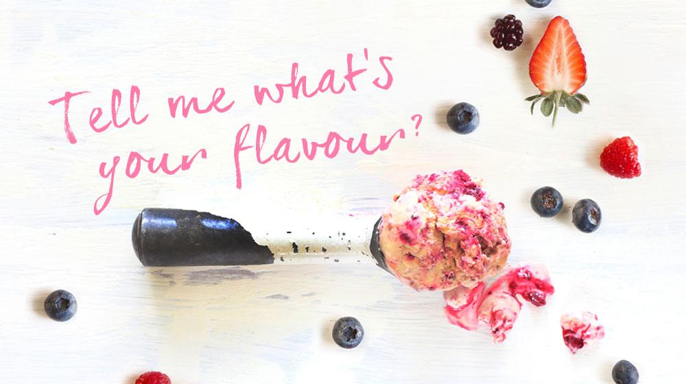 Ice cream flavour