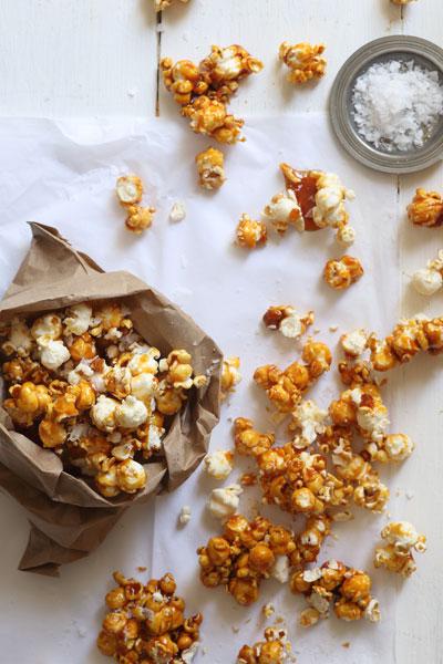 Lockdown Baking Recipes salted caramel popcorn
